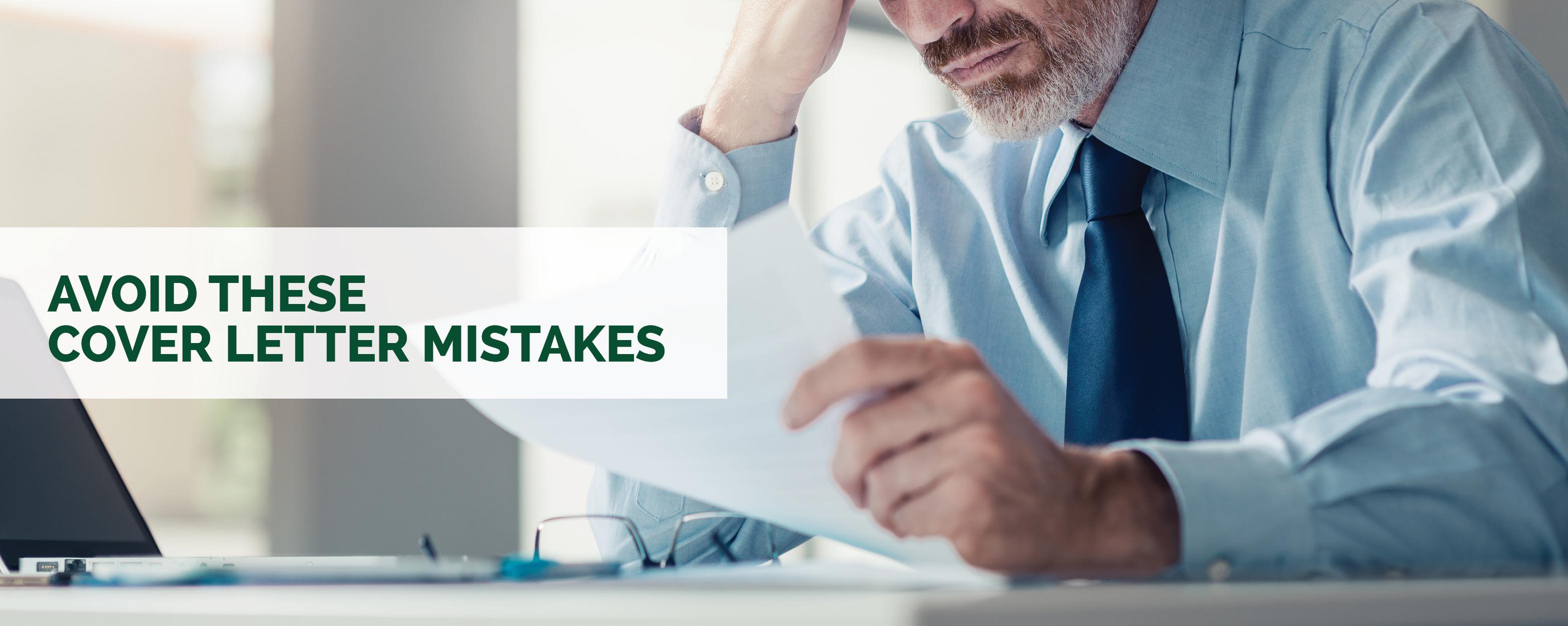 Avoid These Cover Letter Mistakes - NextGen