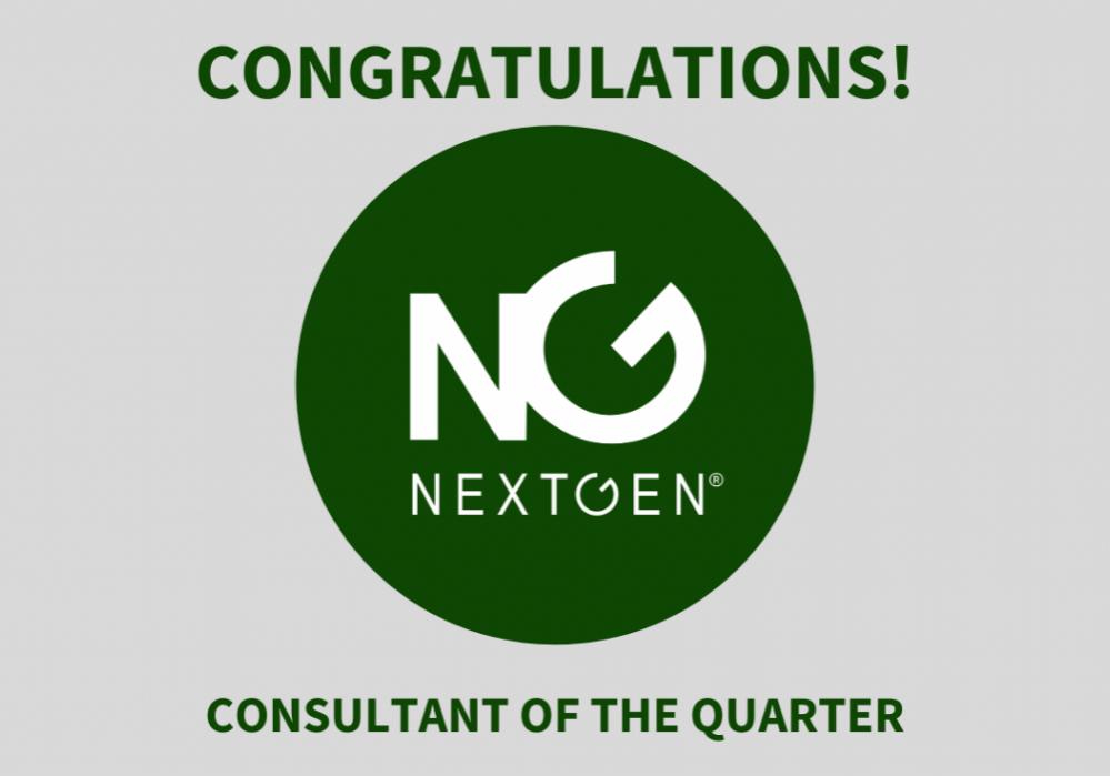 Consultant of the Quarter